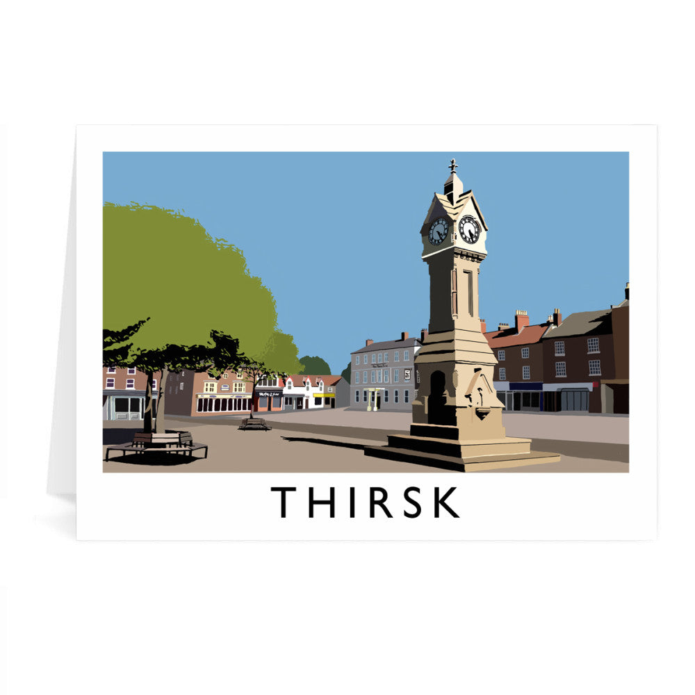 Thirsk, Yorkshire Greeting Card 7x5