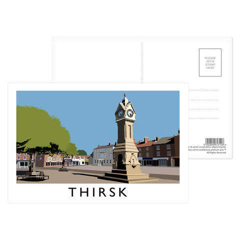 Thirsk, Yorkshire Postcard Pack
