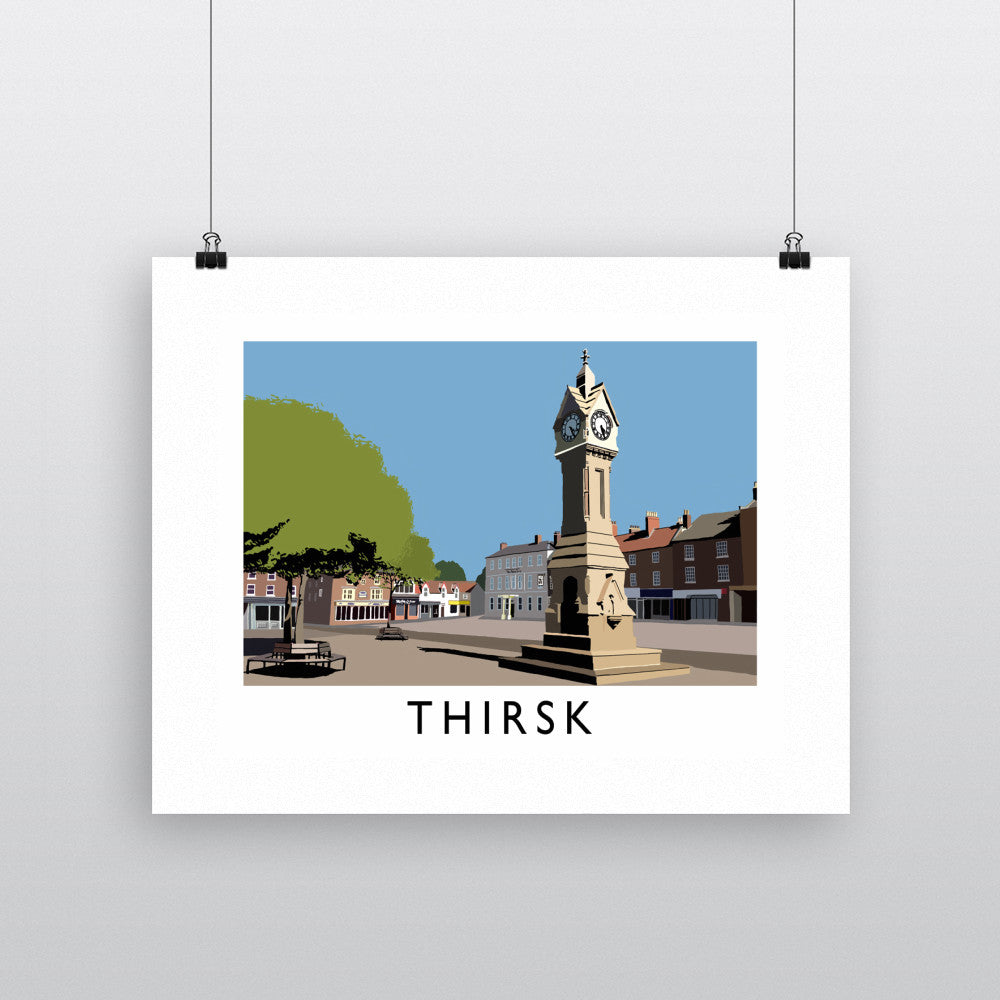 Thirsk, Yorkshire Fine Art Print