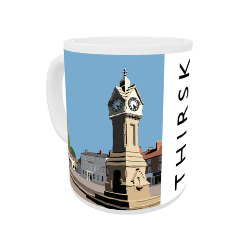 Thirsk, Yorkshire Coloured Insert Mug