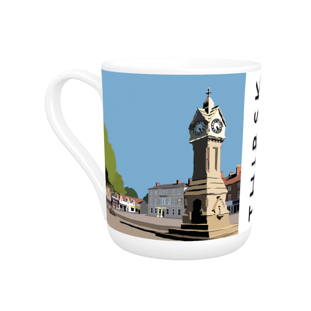 Thirsk, Yorkshire Bone China Mug
