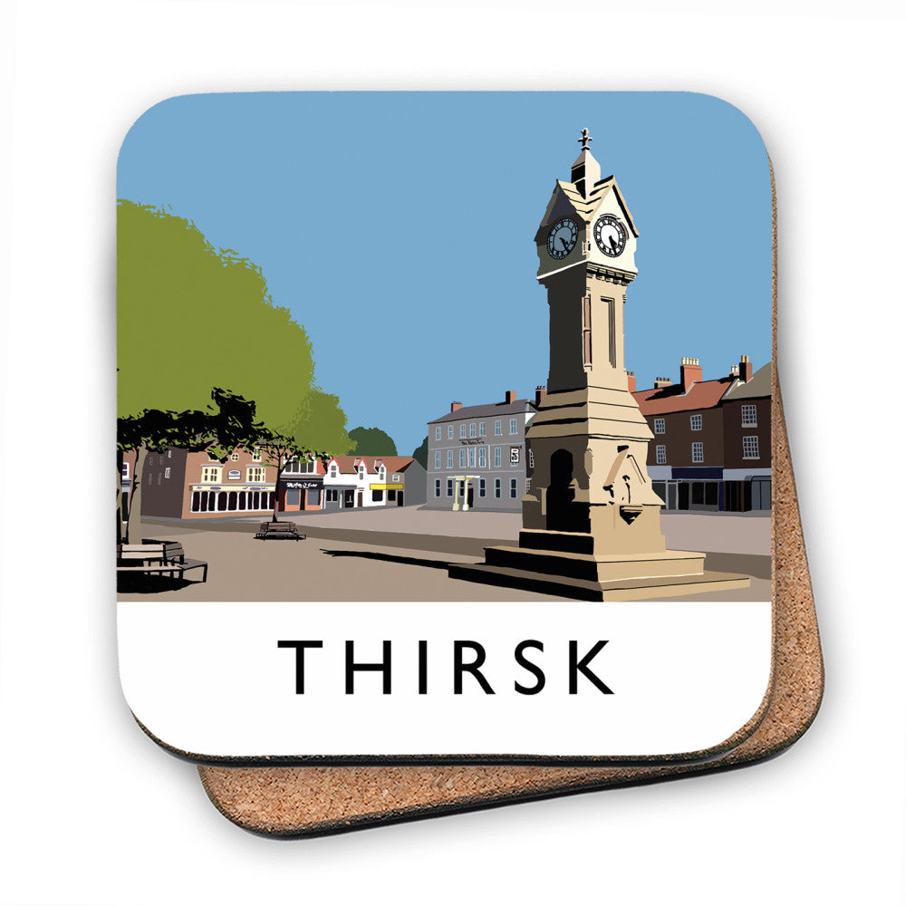Thirsk, Yorkshire MDF Coaster