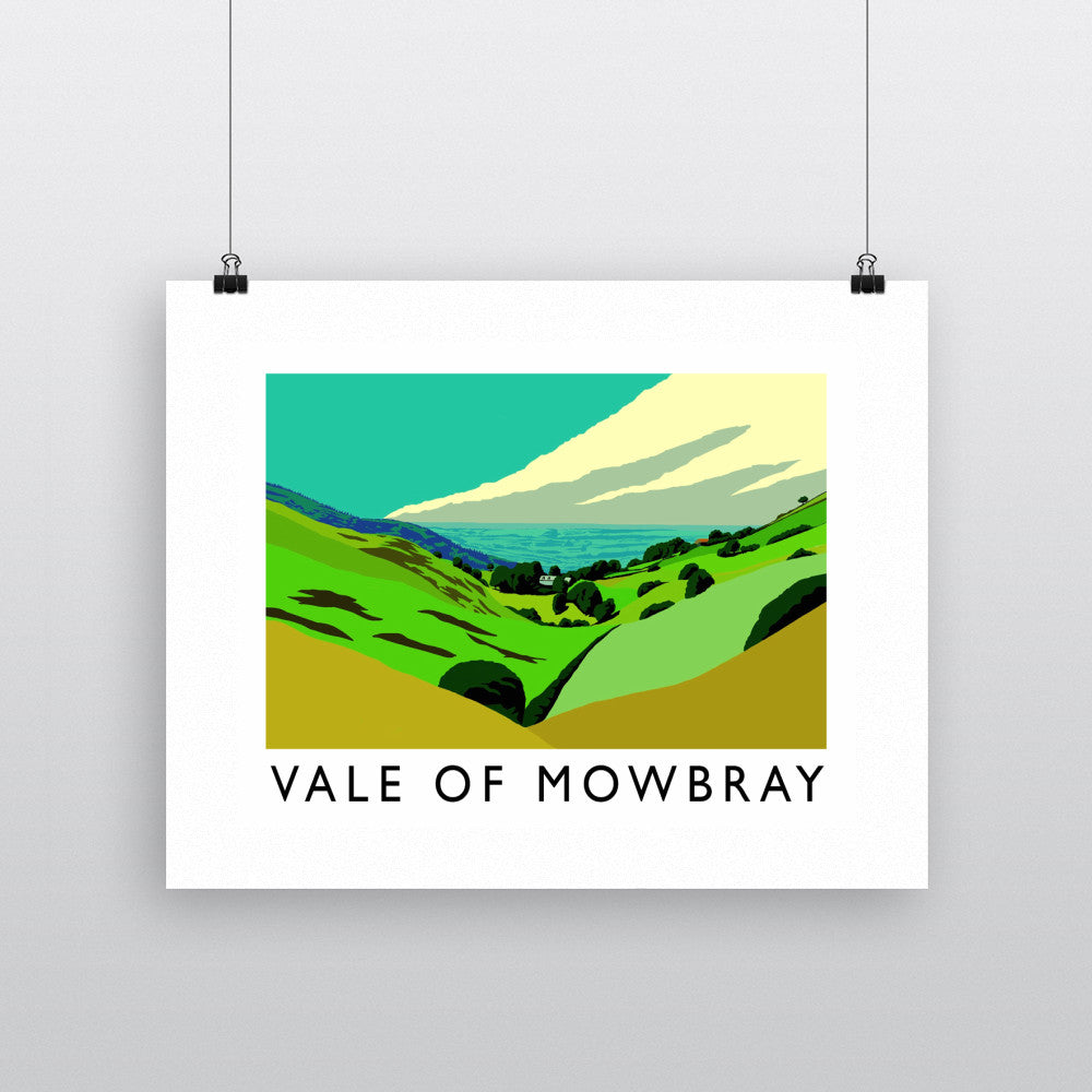 Vale of Mowbray, Yorkshire Fine Art Print