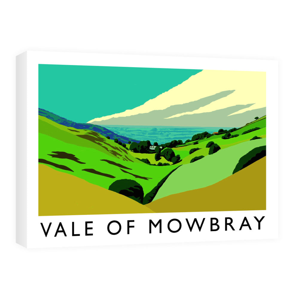 Vale of Mowbray, Yorkshire Canvas