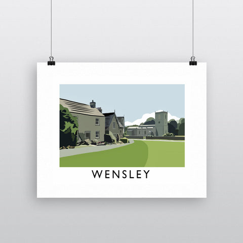 Wensley, Yorkshire Fine Art Print
