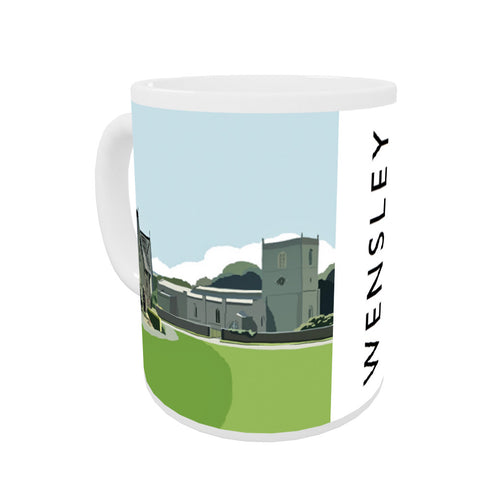 Wensley, Yorkshire Coloured Insert Mug
