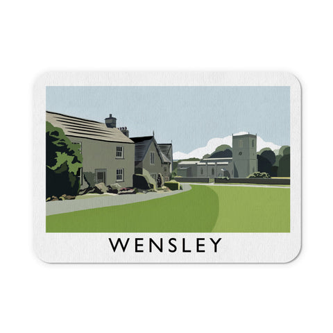 Wensley, Yorkshire Mouse Mat