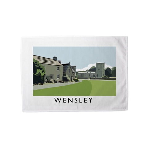 Wensley, Yorkshire Tea Towel