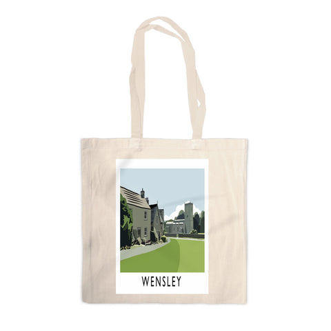 Wensley, Yorkshire Canvas Tote Bag