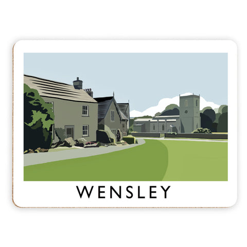 Wensley, Yorkshire Placemat