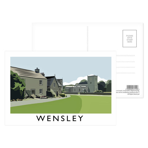 Wensley, Yorkshire Postcard Pack