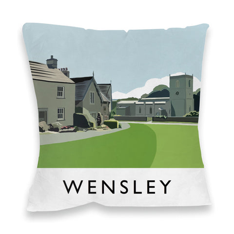 Wensley, Yorkshire Fibre Filled Cushion