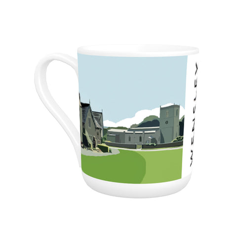 Wensley, Yorkshire Bone China Mug