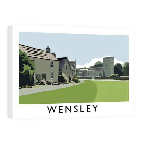 Wensley, Yorkshire Canvas