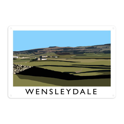 Wensleydale, Yorkshire Metal Sign