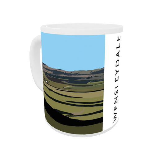 Wensleydale, Yorkshire Coloured Insert Mug