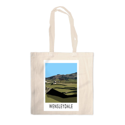 Wensleydale, Yorkshire Canvas Tote Bag
