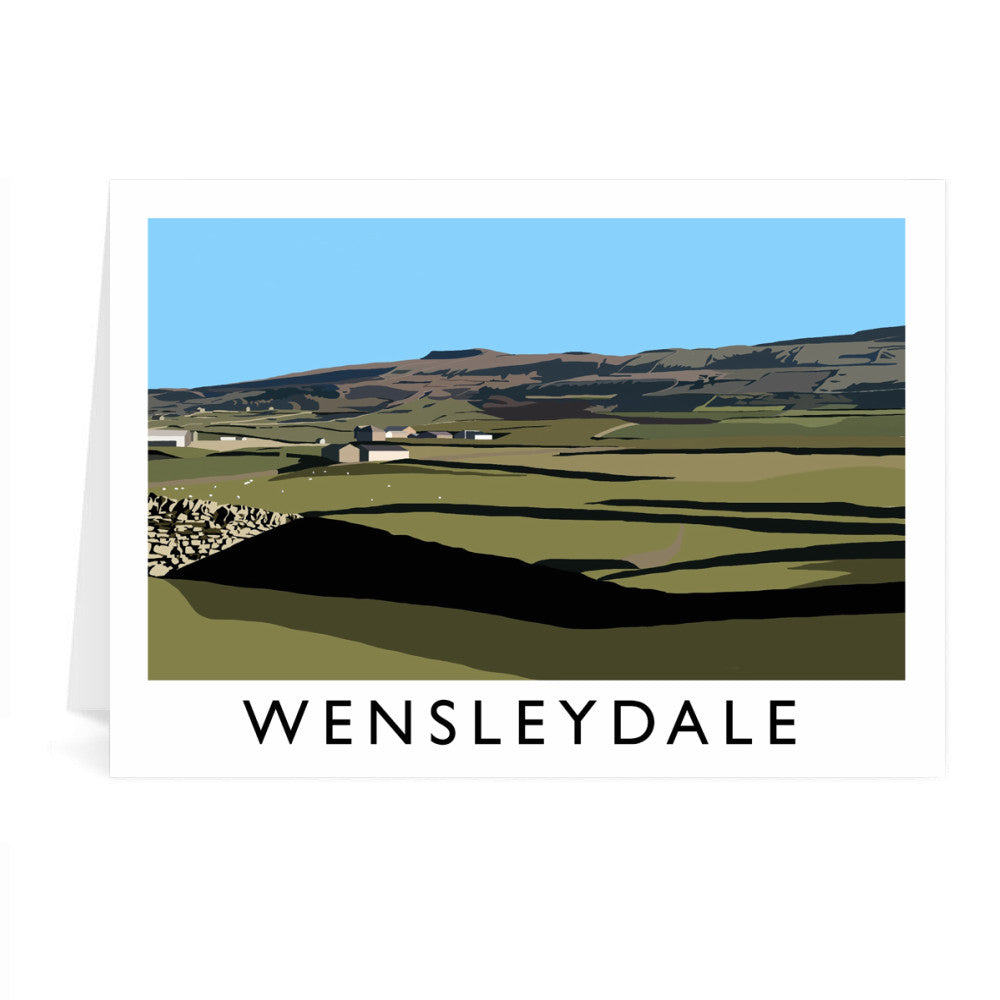 Wensleydale, Yorkshire Greeting Card 7x5