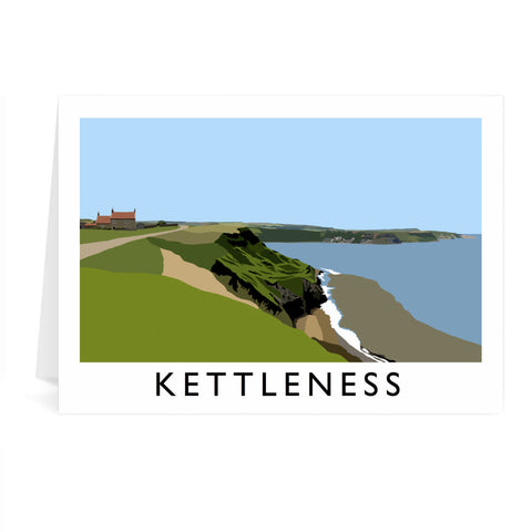 Kettleness, Yorkshire Greeting Card 7x5
