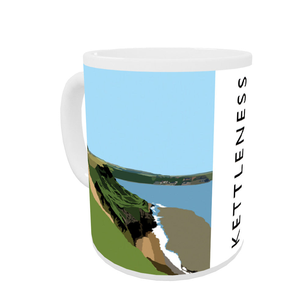Kettleness, Yorkshire Coloured Insert Mug