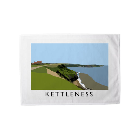 Kettleness, Yorkshire Tea Towel