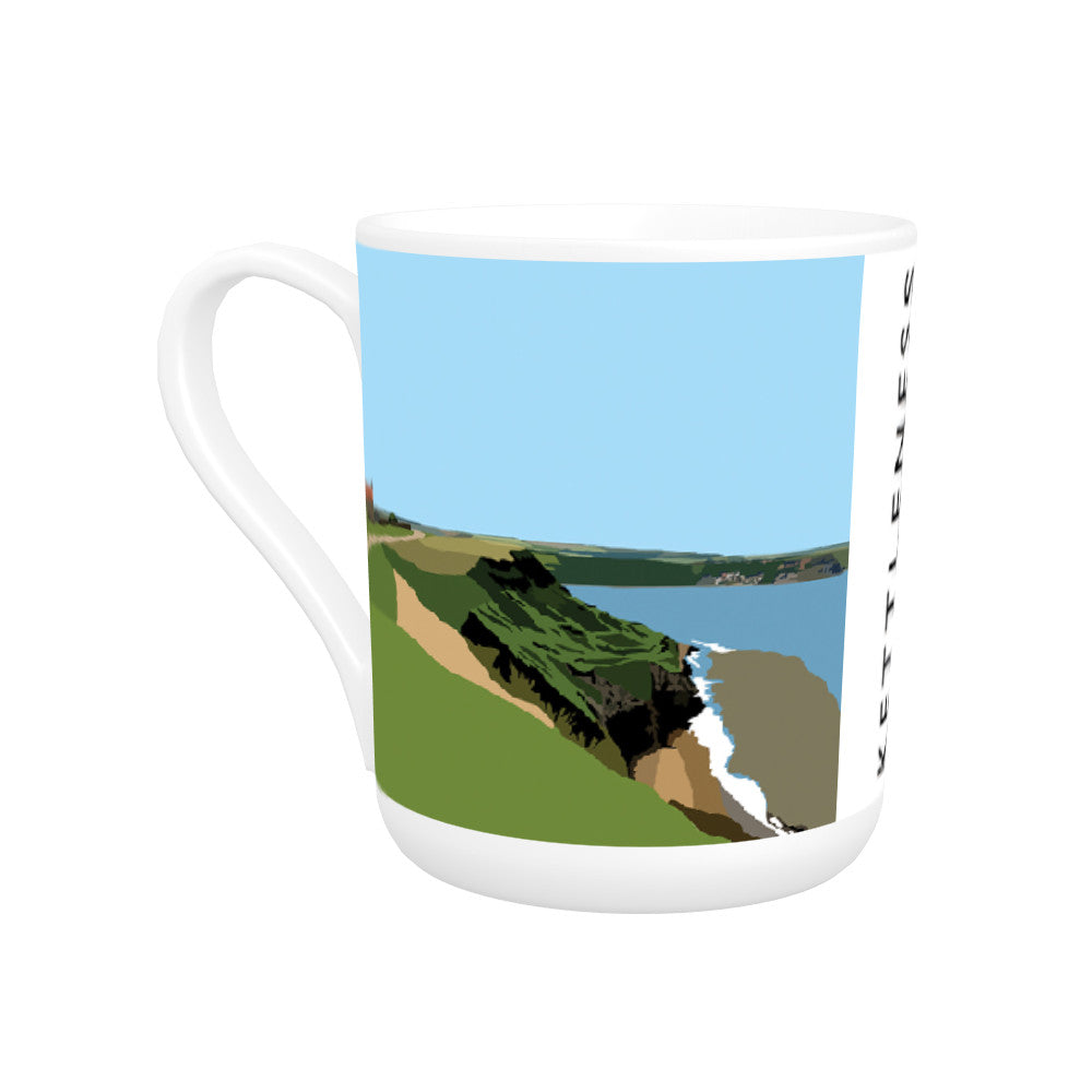 Kettleness, Yorkshire Bone China Mug