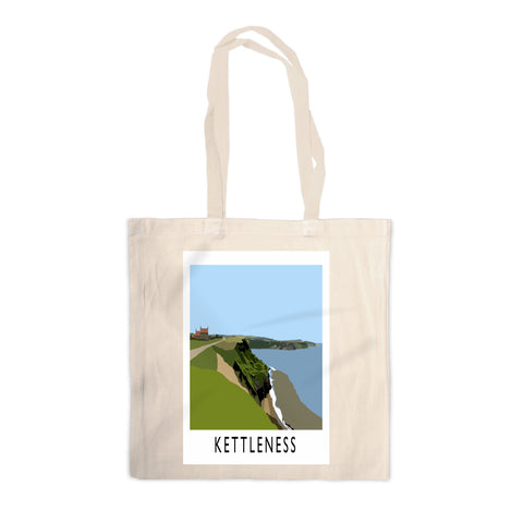 Kettleness, Yorkshire Canvas Tote Bag