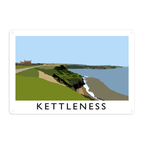 Kettleness, Yorkshire Metal Sign