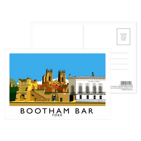 Bootham Bar, York Postcard Pack