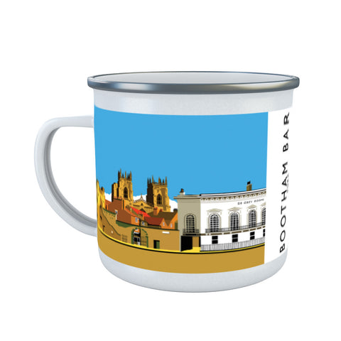 Bootham Bar, York Enamel Mug