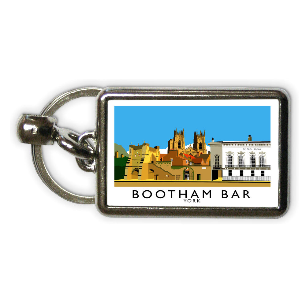 Bootham Bar, York Metal Keyring