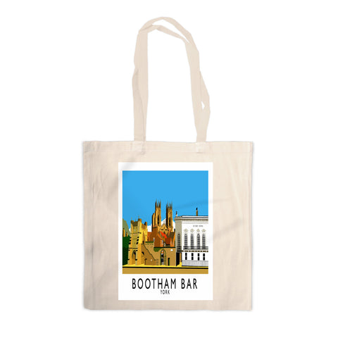 Bootham Bar, York Canvas Tote Bag