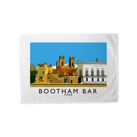 Bootham Bar, York Tea Towel