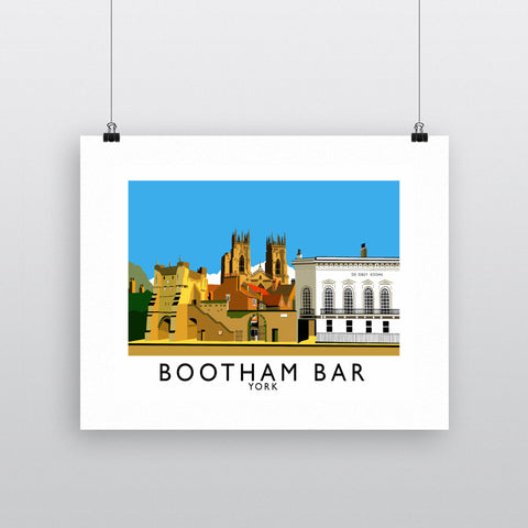 Bootham Bar, York Fine Art Print