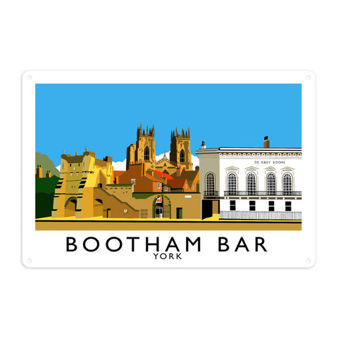 Bootham Bar, York Metal Sign