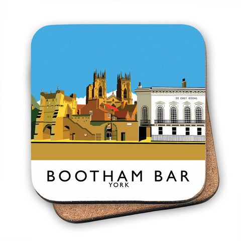 Bootham Bar, York MDF Coaster