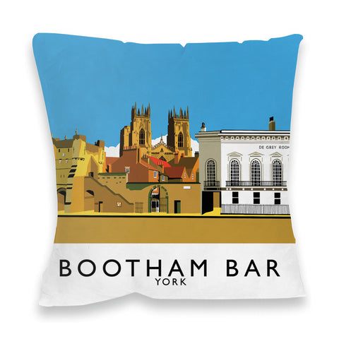 Bootham Bar, York Fibre Filled Cushion