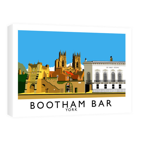 Bootham Bar, York Canvas