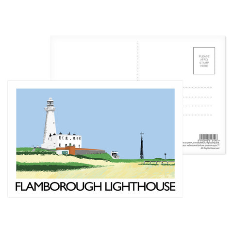 Flamborough Lighthouse, Yorkshire Postcard Pack