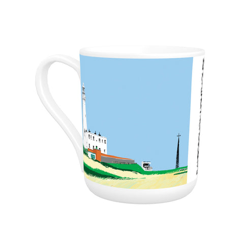 Flamborough Lighthouse, Yorkshire Bone China Mug