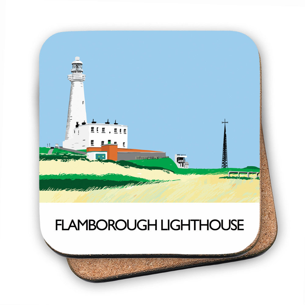 Flamborough Lighthouse, Yorkshire MDF Coaster