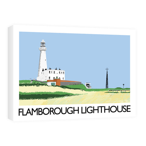 Flamborough Lighthouse, Yorkshire Canvas