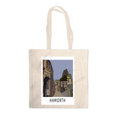 Haworth, Yorkshire Canvas Tote Bag