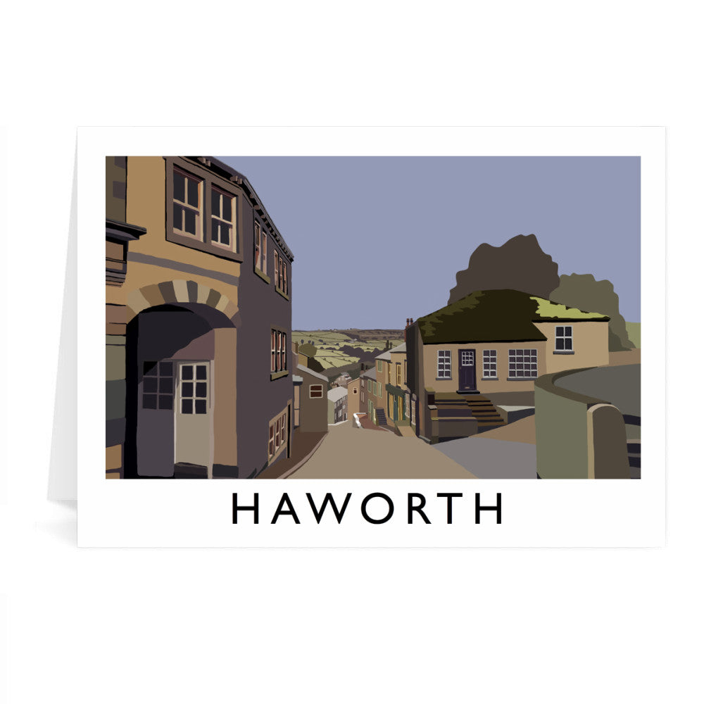 Haworth, Yorkshire Greeting Card 7x5