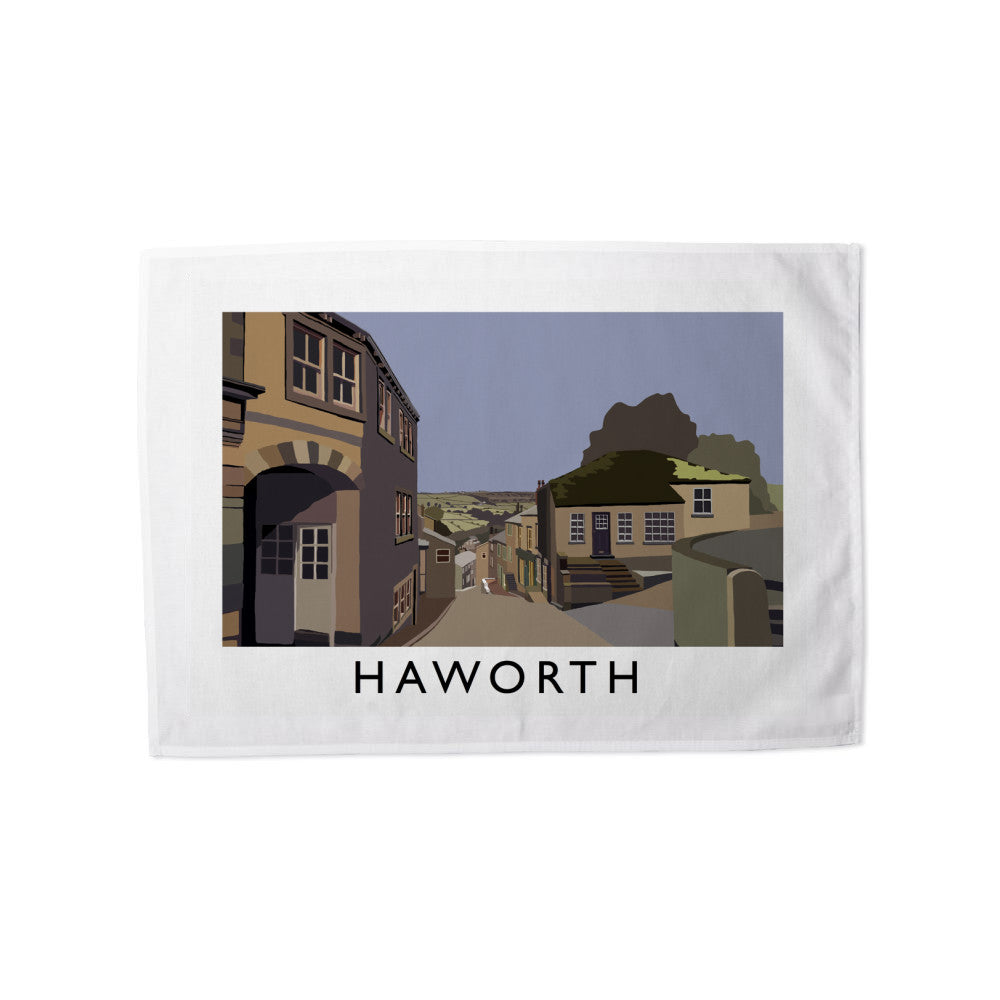 Haworth, Yorkshire Tea Towel