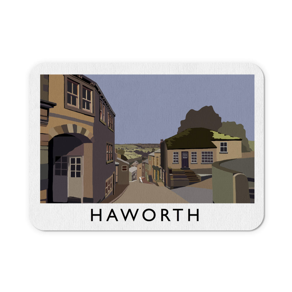Haworth, Yorkshire Mouse Mat
