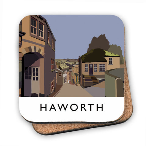 Haworth, Yorkshire MDF Coaster