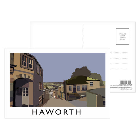 Haworth, Yorkshire Postcard Pack