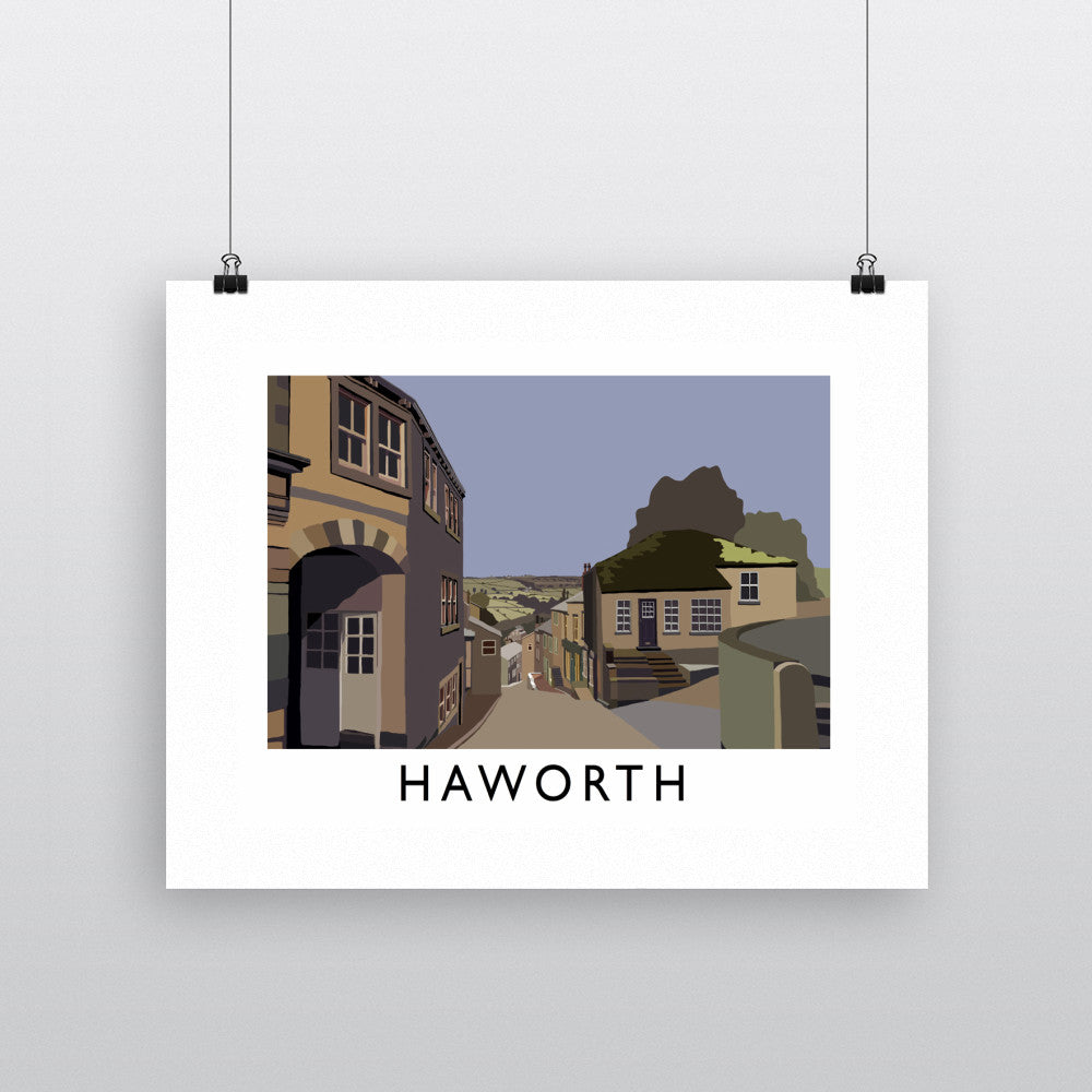 Haworth, Yorkshire Fine Art Print