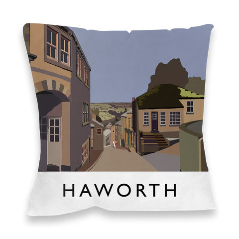 Haworth, Yorkshire Fibre Filled Cushion